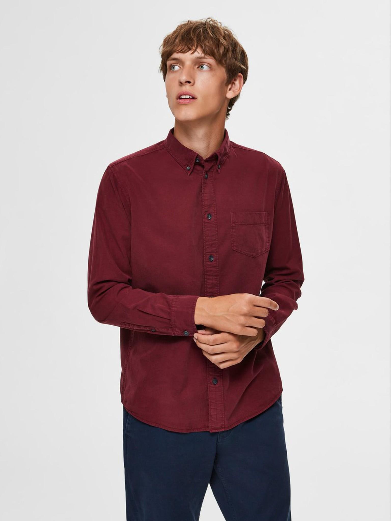 SELECTED chemise boutonnée-1