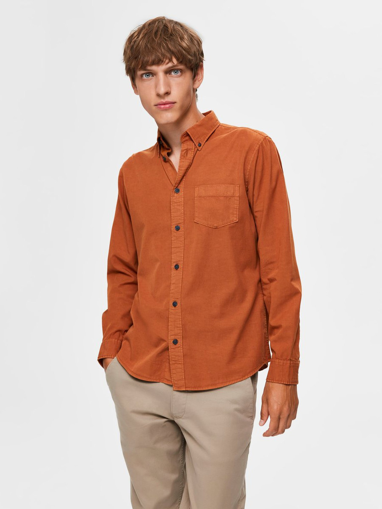 SELECTED chemise boutonnée-7
