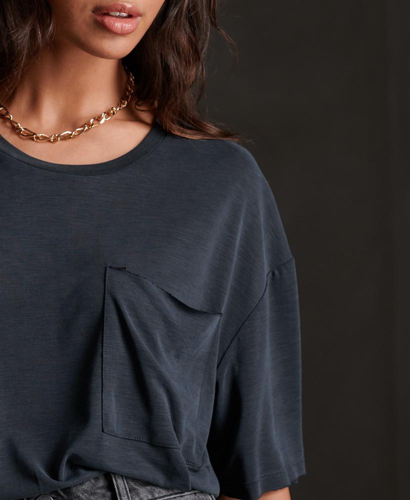 SUPERDRY t-shirt à poche canyon essential-3