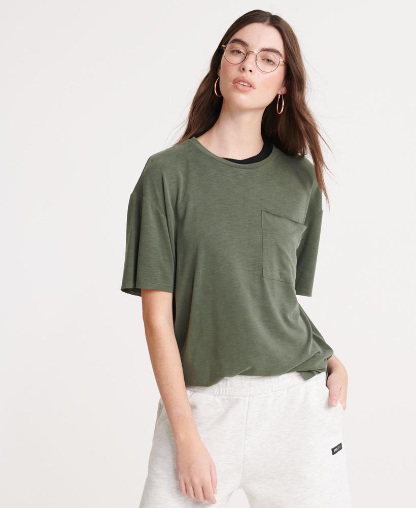 SUPERDRY t-shirt à poche canyon essential-7