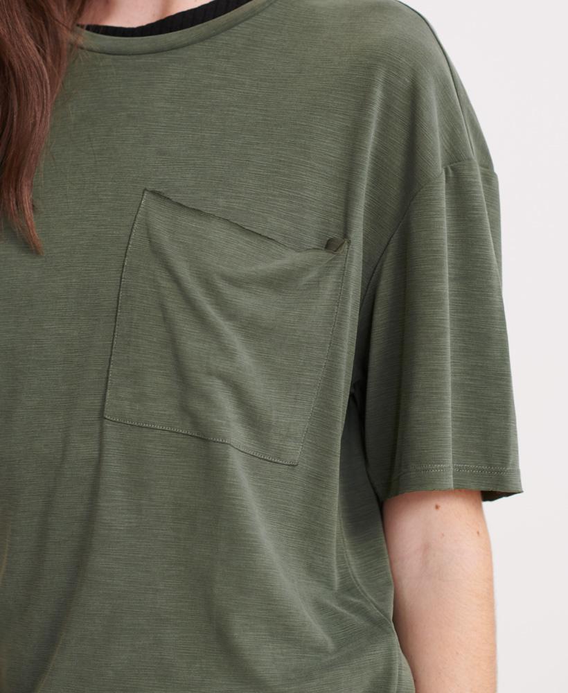SUPERDRY t-shirt à poche canyon essential-9