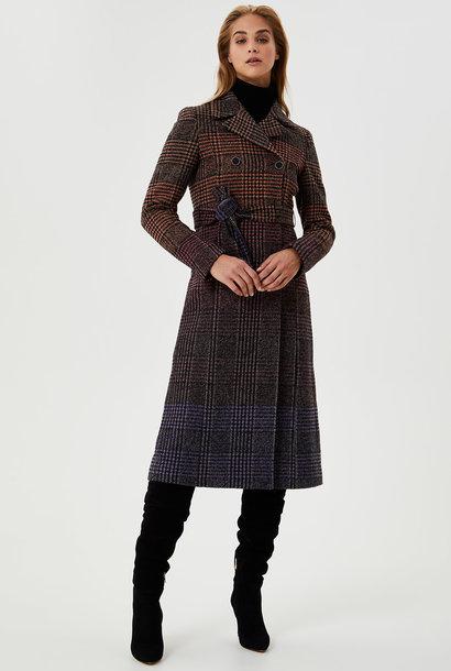 LIUJO manteau long avec ceinture