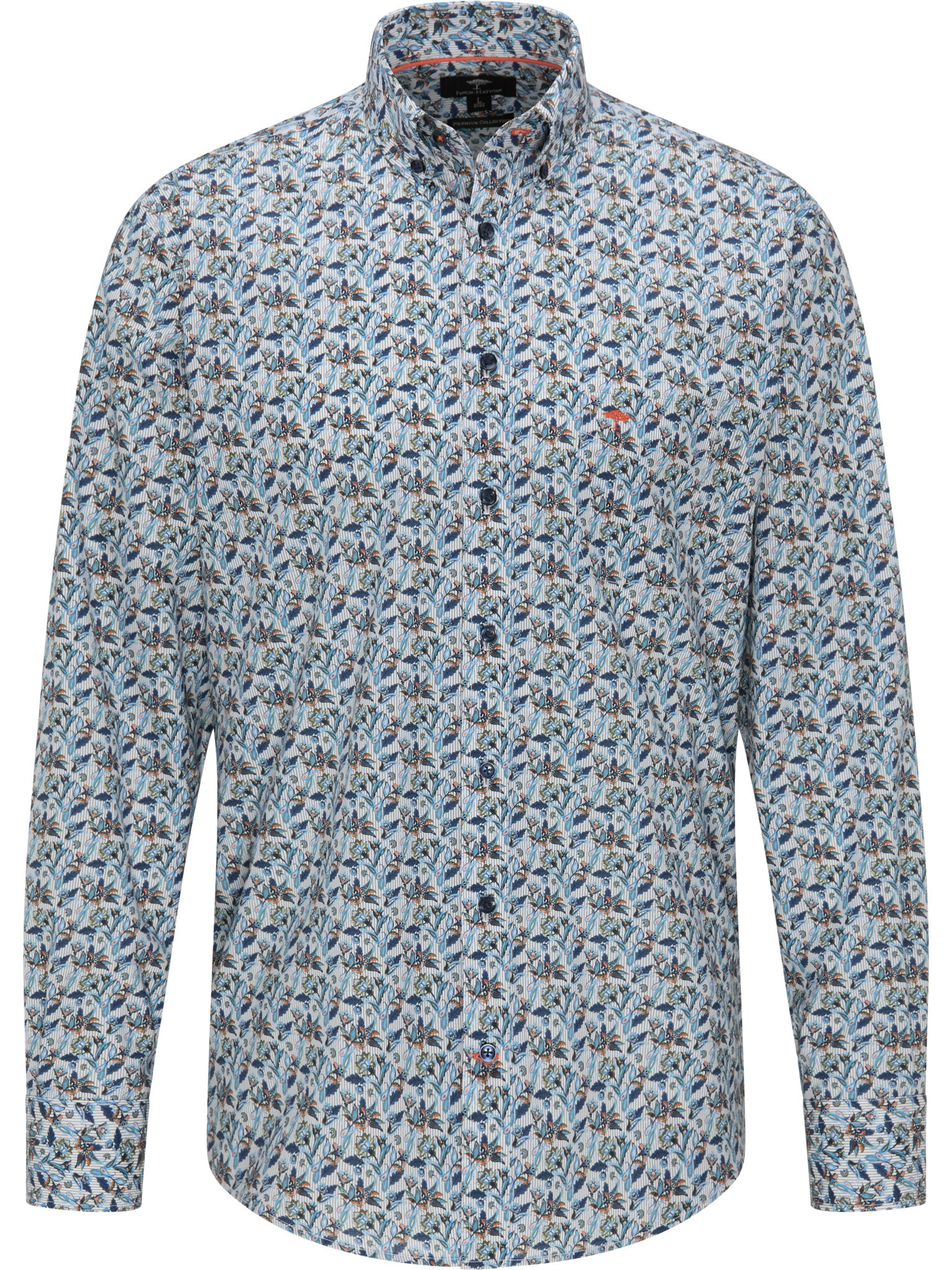 FYNCH HATTON chemise flower-2