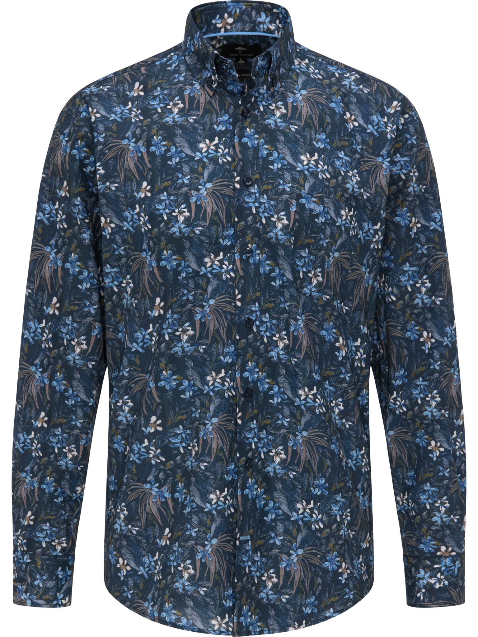 FYNCH HATTON chemise flower-1