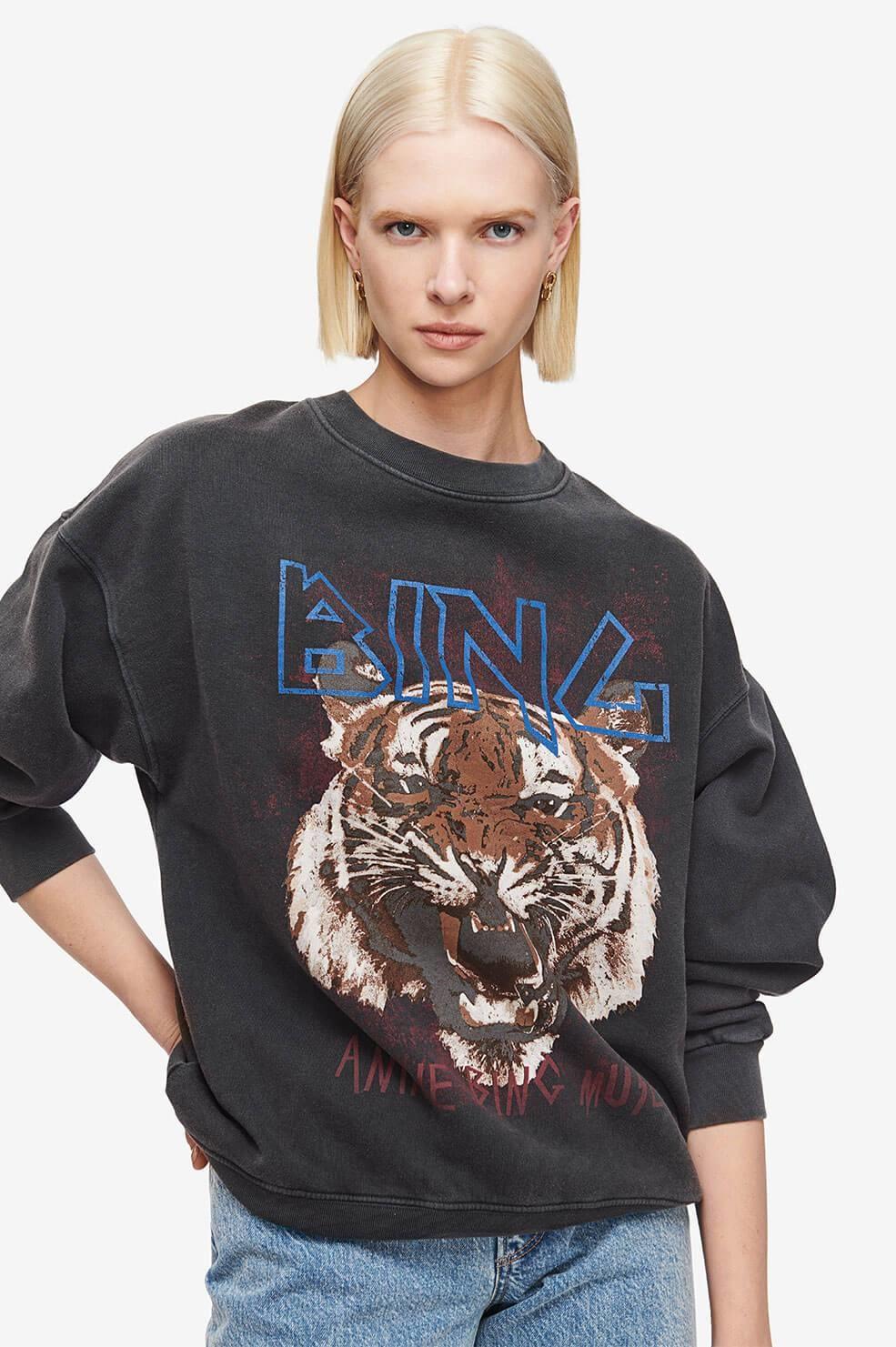 ANINE BING sweat tiger-2