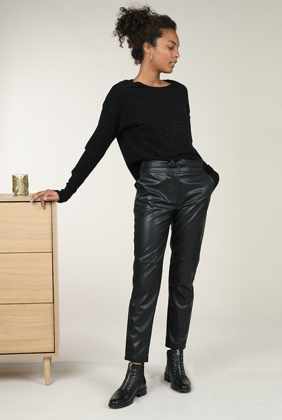 PEPITES pantalon simili zoe