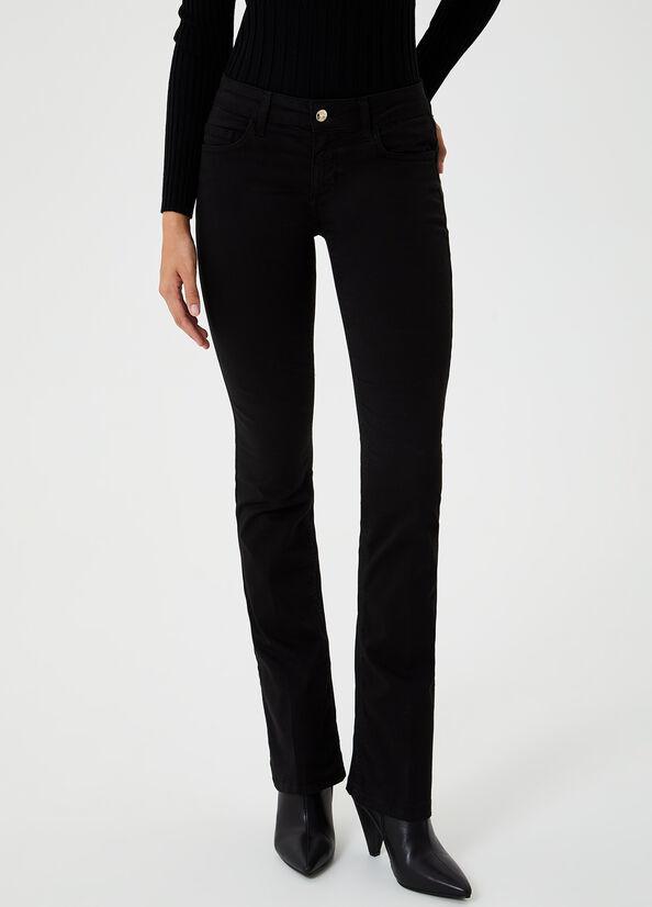 LIUJO pantalon bootcut-2
