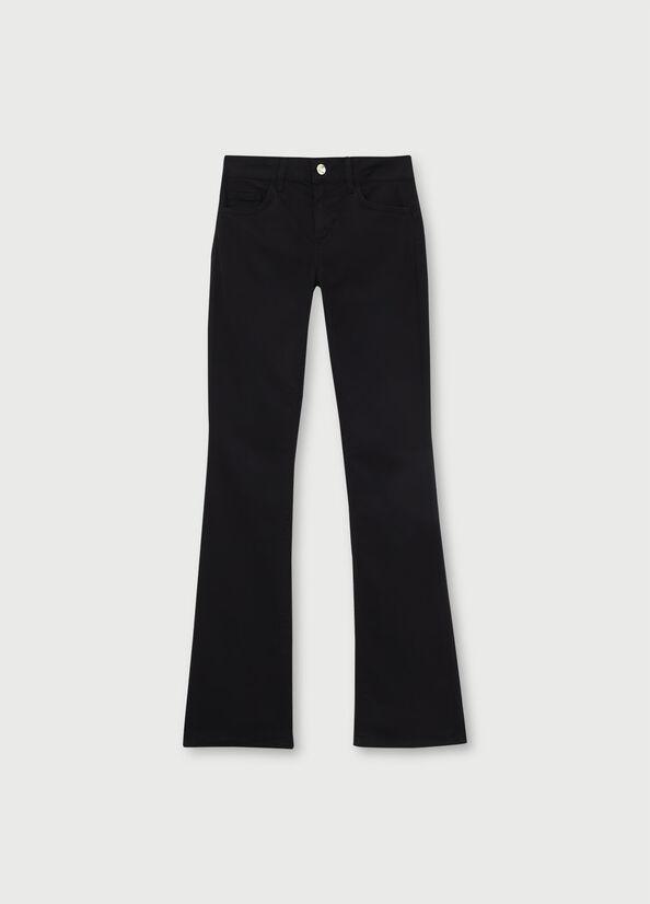 LIUJO pantalon bootcut-1