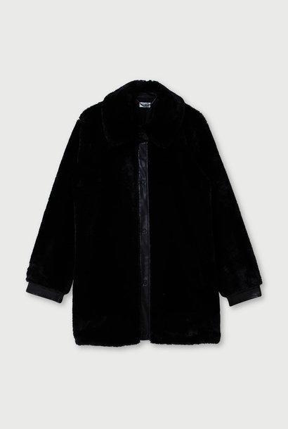 LIUJO manteau en fausse fourure