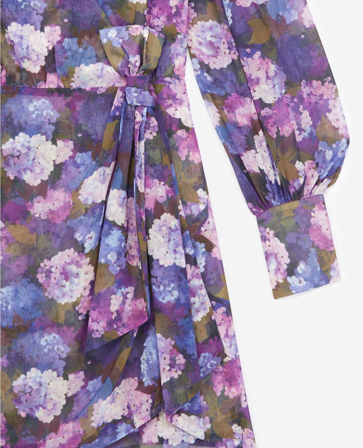 THE KOOPLES robe portefeuille imprimé violet-5