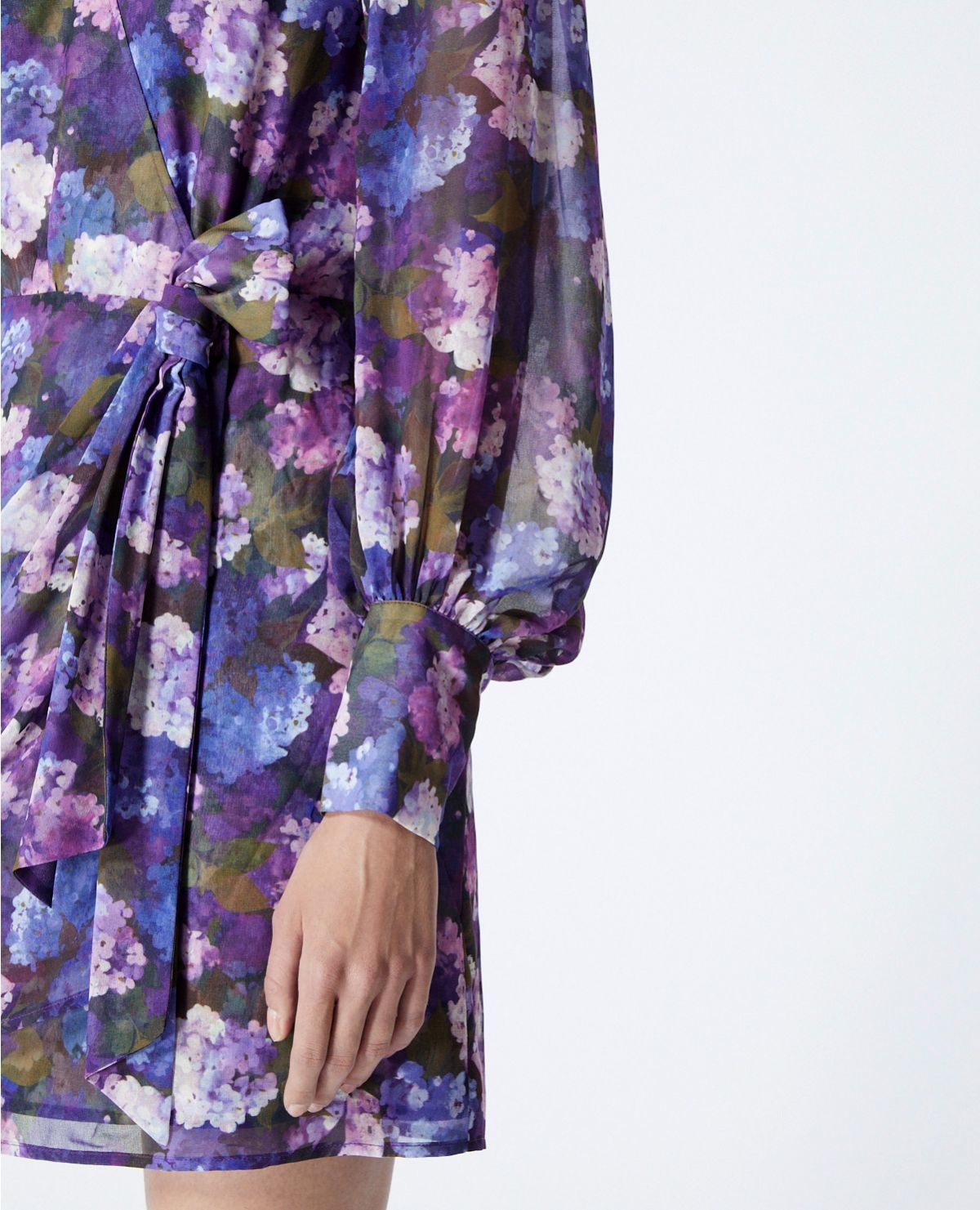 THE KOOPLES robe portefeuille imprimé violet-7