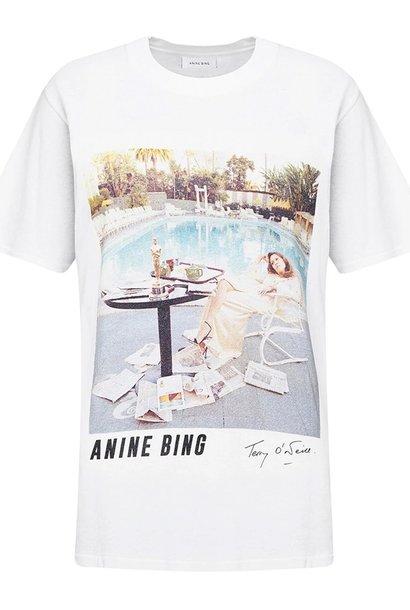ANINE BING t-shirt lili X to faye dunaway