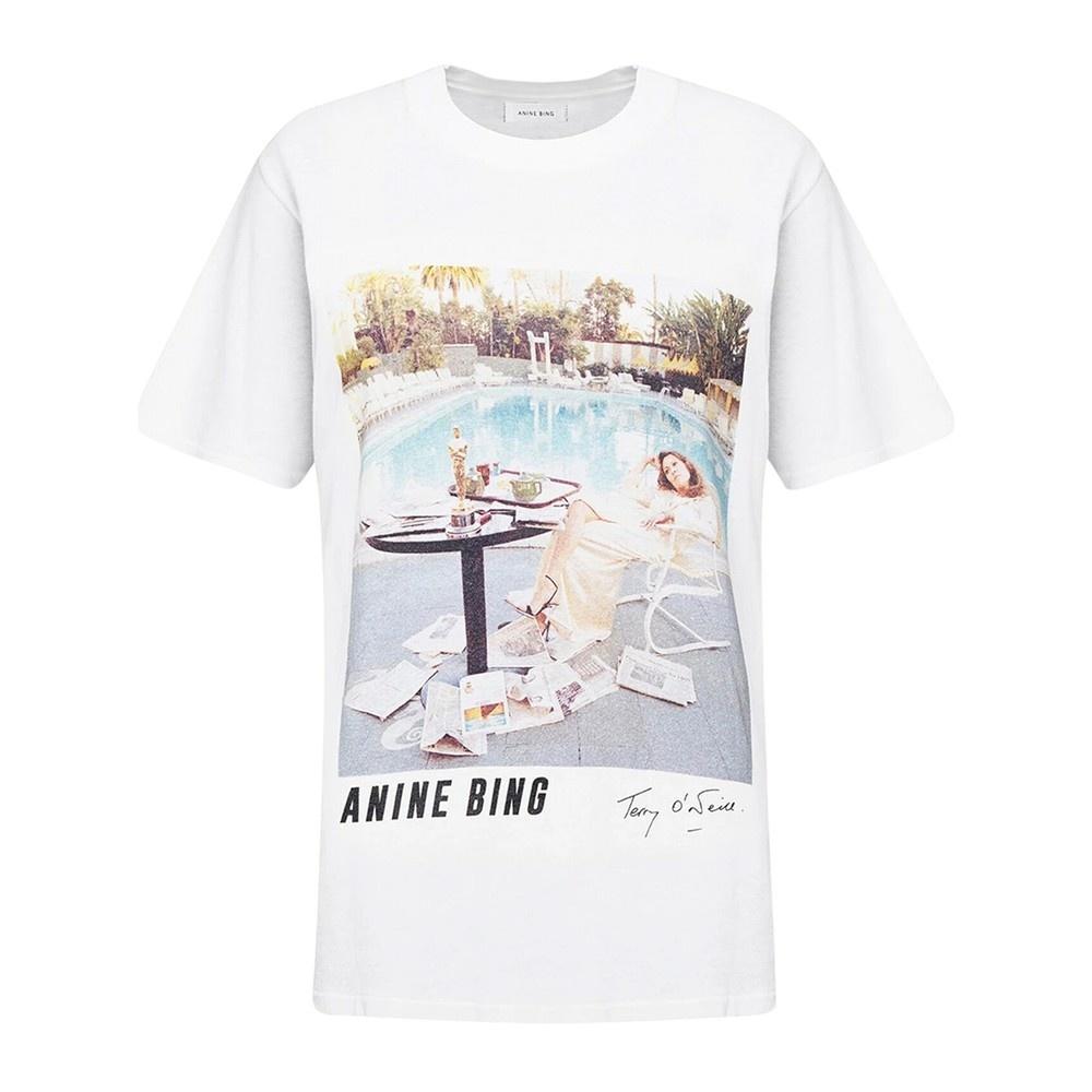 ANINE BING t-shirt lili X to faye dunaway-1
