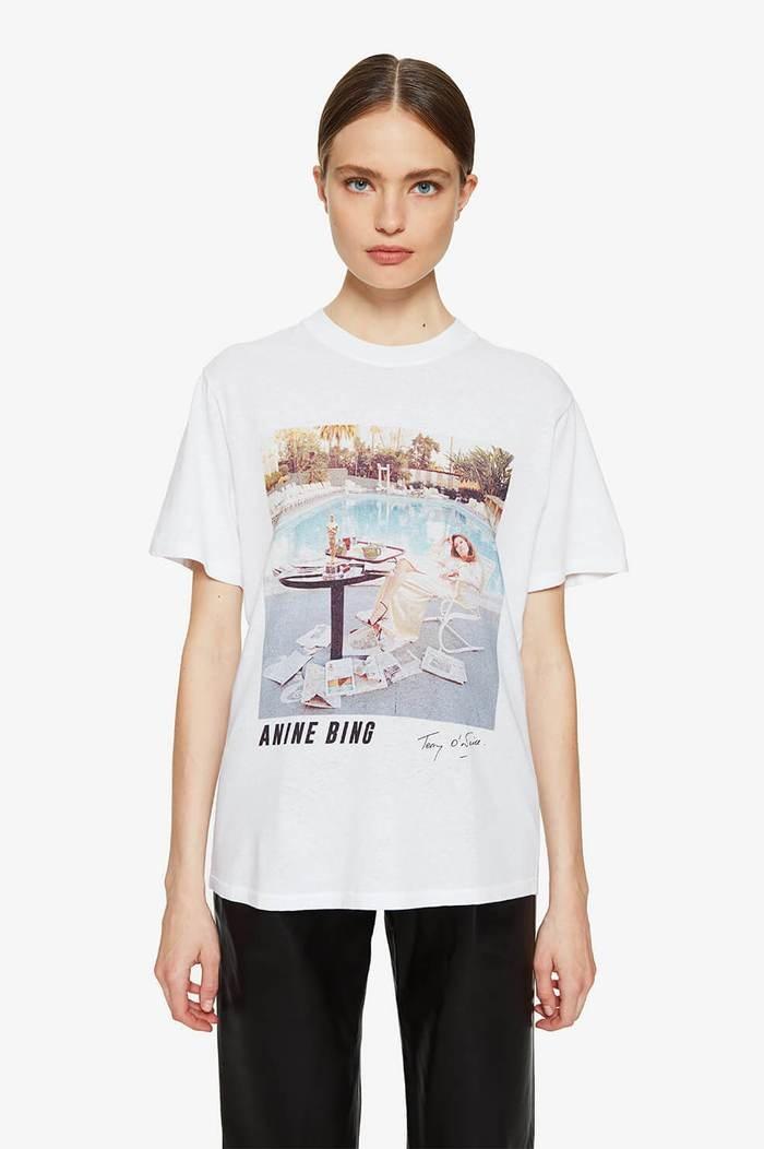 ANINE BING t-shirt lili X to faye dunaway-2