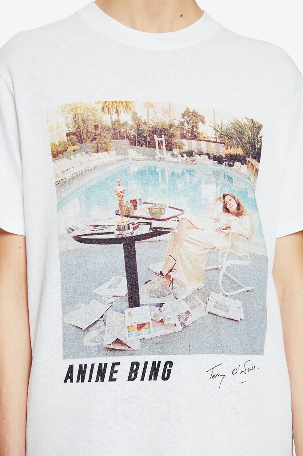 ANINE BING t-shirt lili X to faye dunaway-5