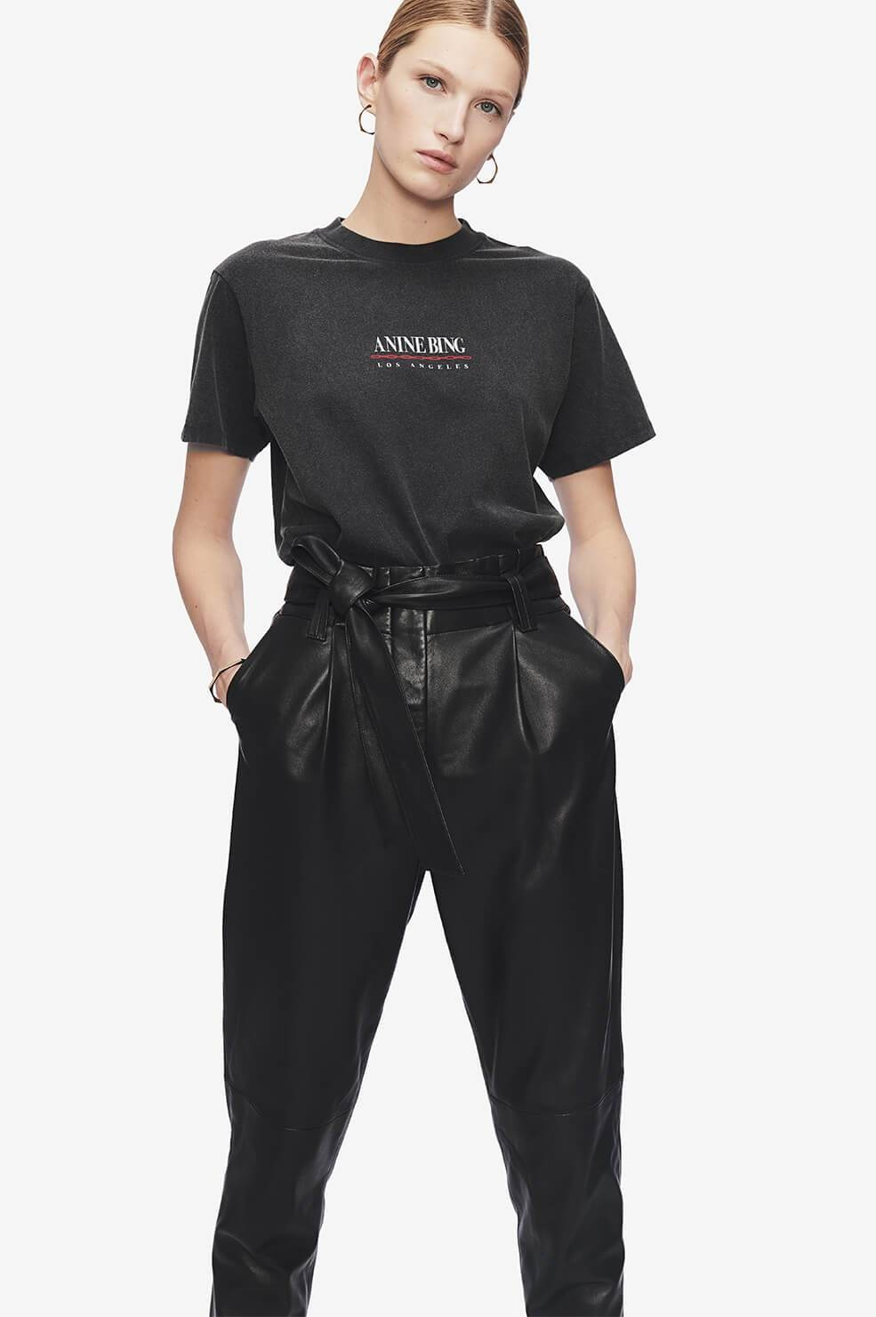 ANINE BING t-shirt lili link-2