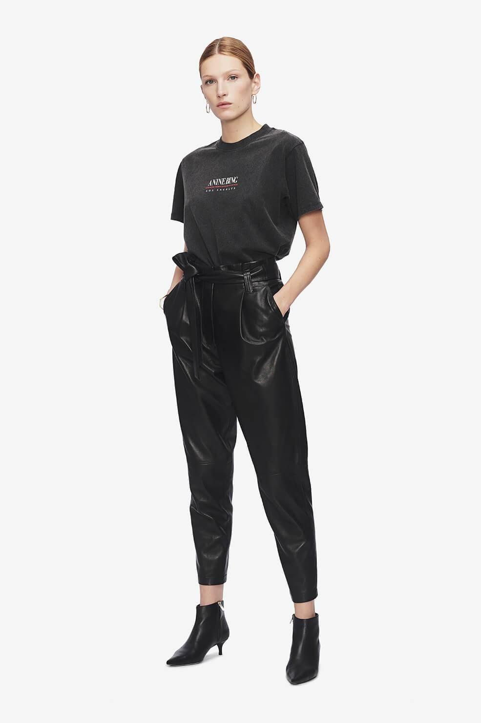 ANINE BING t-shirt lili link-5