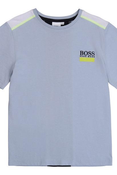 BOSS  t-shirt coton avec bande dos