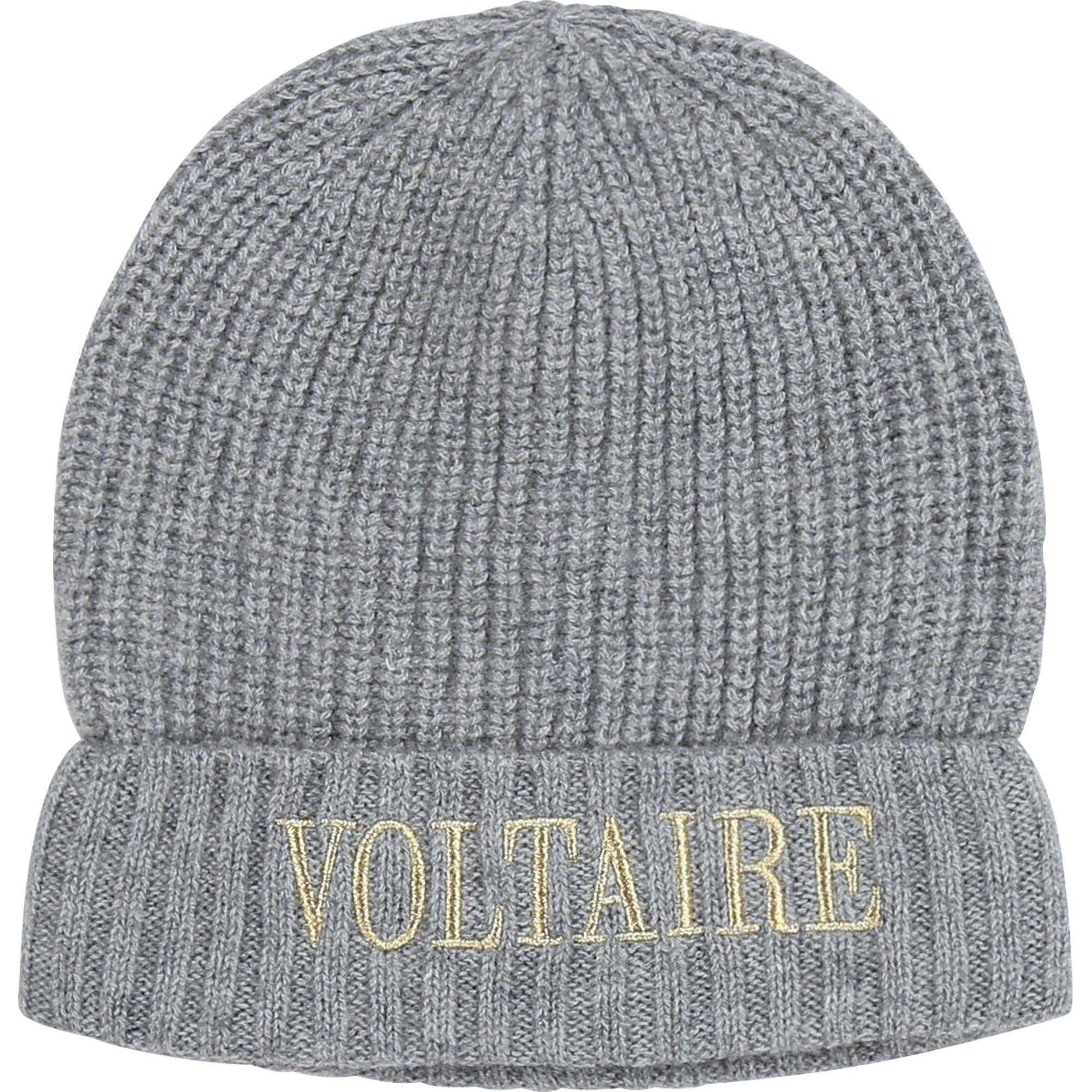 ZADIG&VOLTAIRE bonnet en laine et cachemire-1