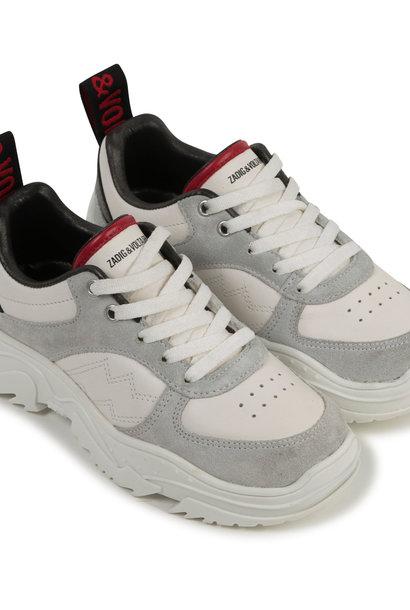 ZADIG&VOLTAIRE sneakers en cuir semelle xl