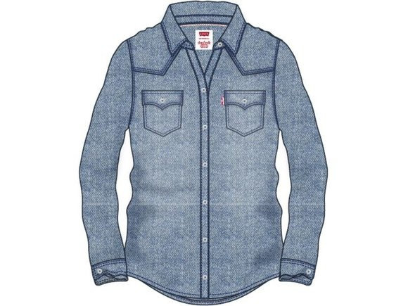 LEVIS chemise western top-1