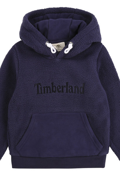 TIMBERLAND sweat à capuche en sherpa