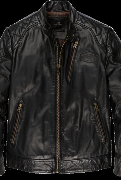 VANGUARD veste en cuir