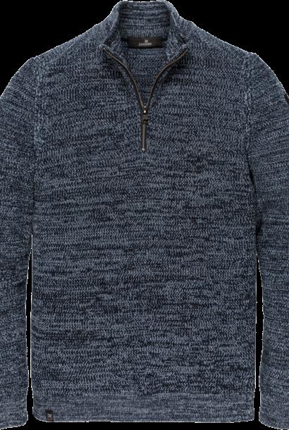 VANGUARD pull zip collar cotton