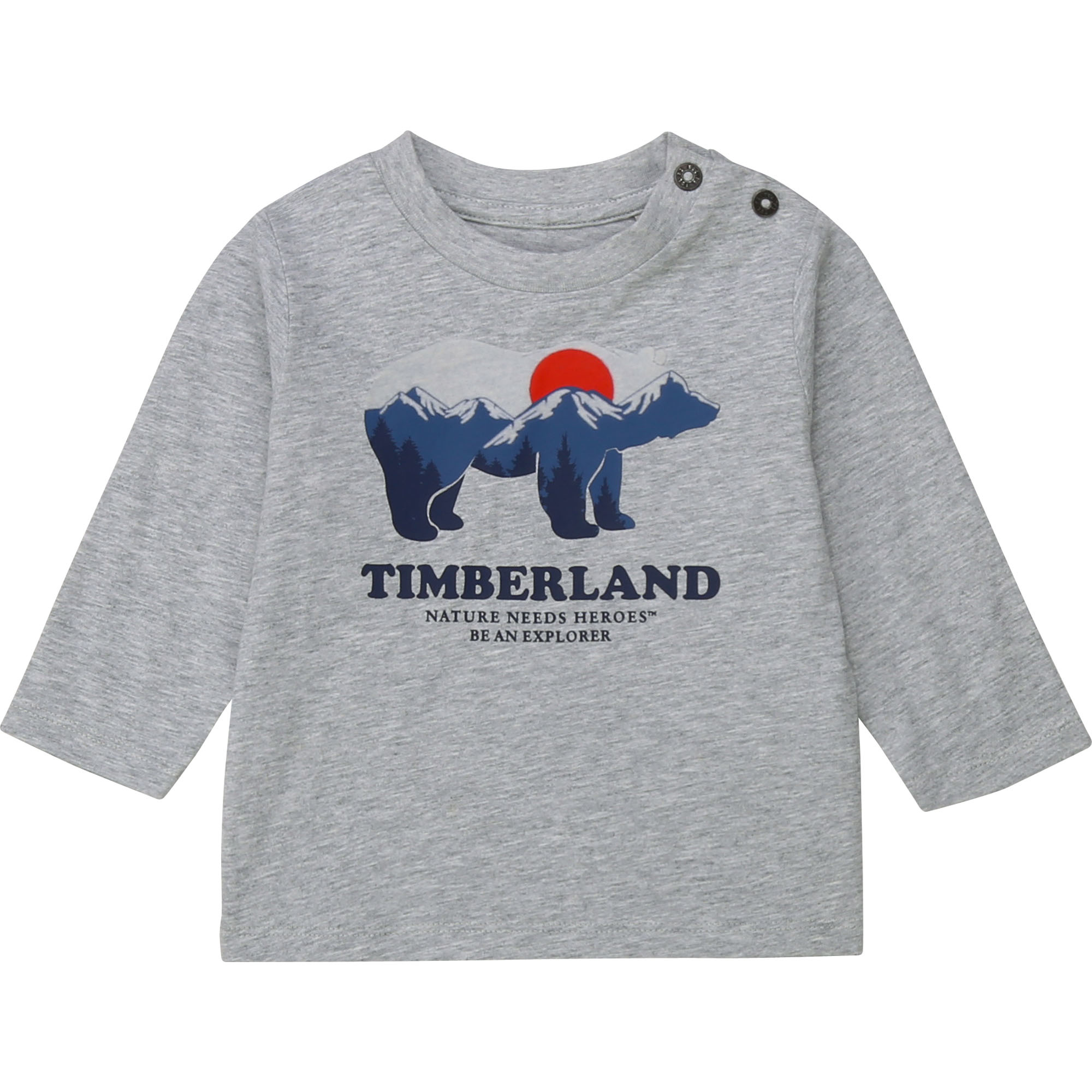 TIMBERLAND t-shirt jersey manches longues-3