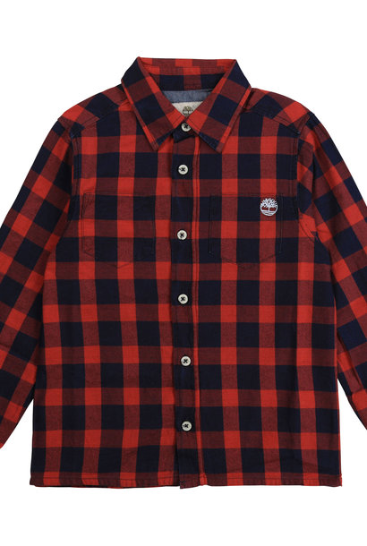 TIMBERLAND chemise rouge vif