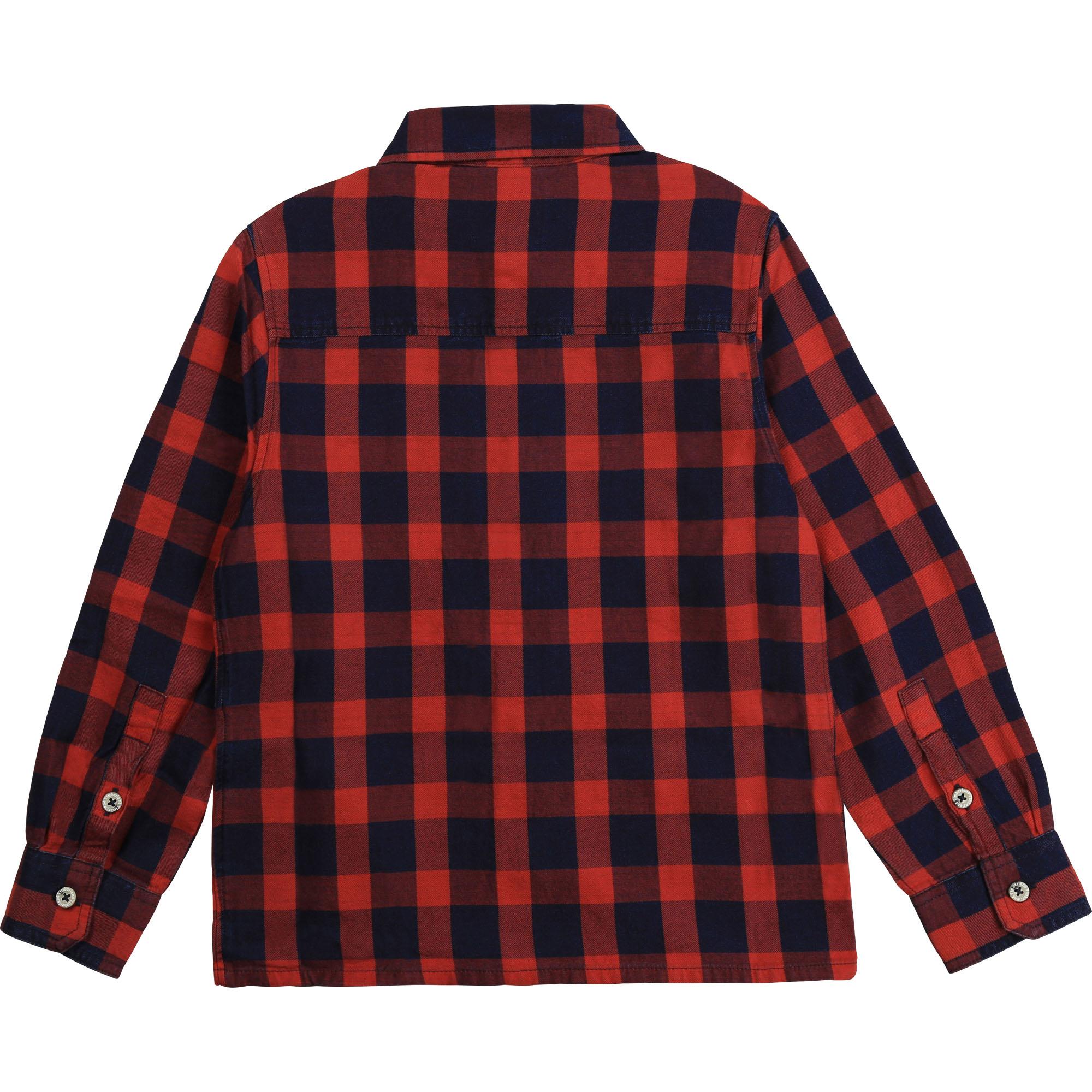 TIMBERLAND chemise rouge vif-2