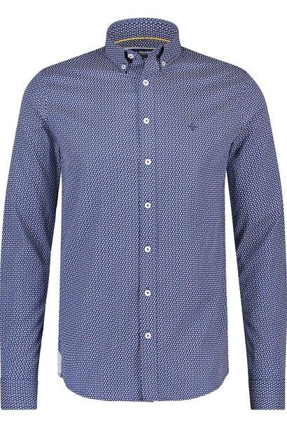 HAZE & FINN chemise extensible à carreaux français, coupe régulière