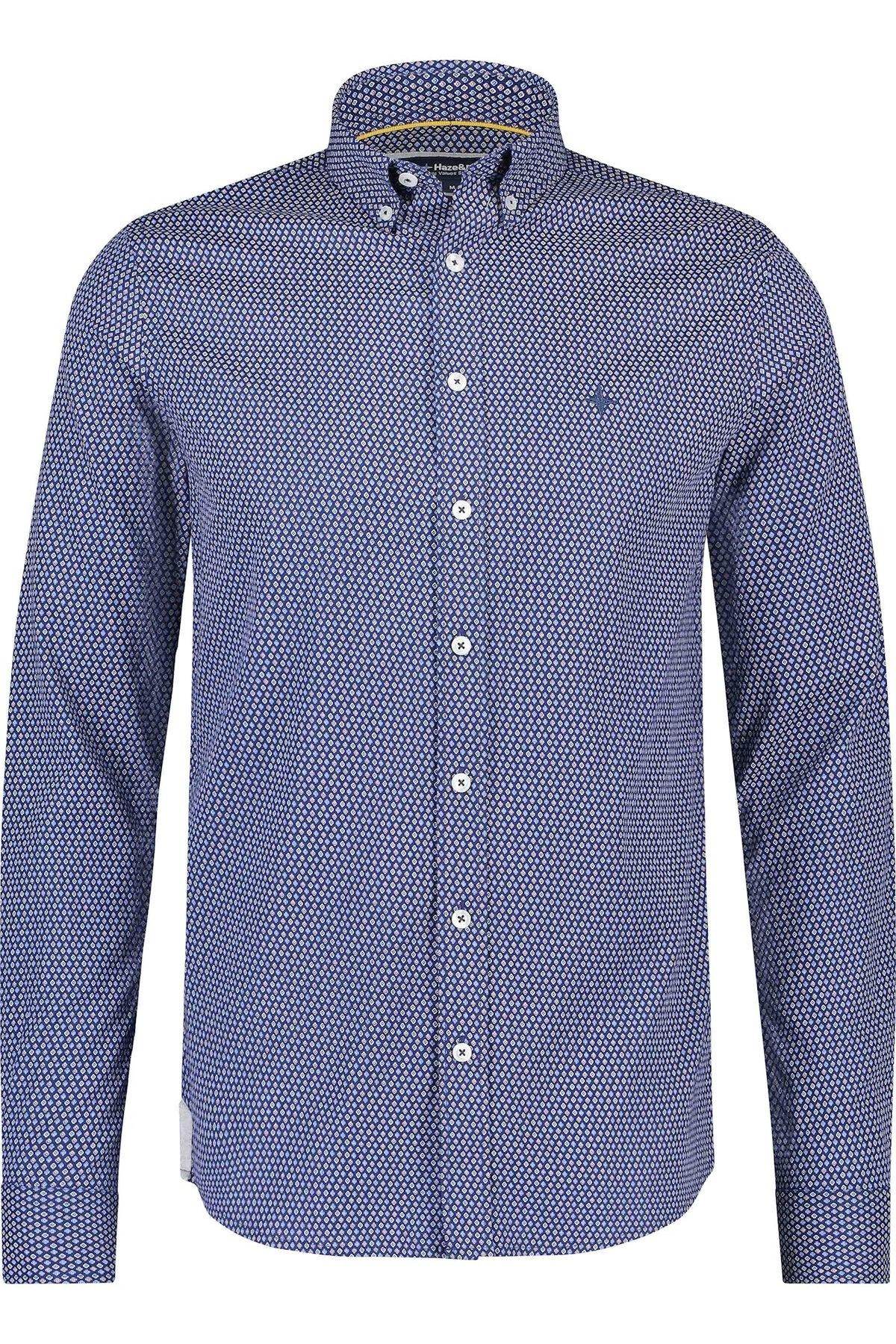 HAZE & FINN chemise extensible à carreaux français, coupe régulière-1