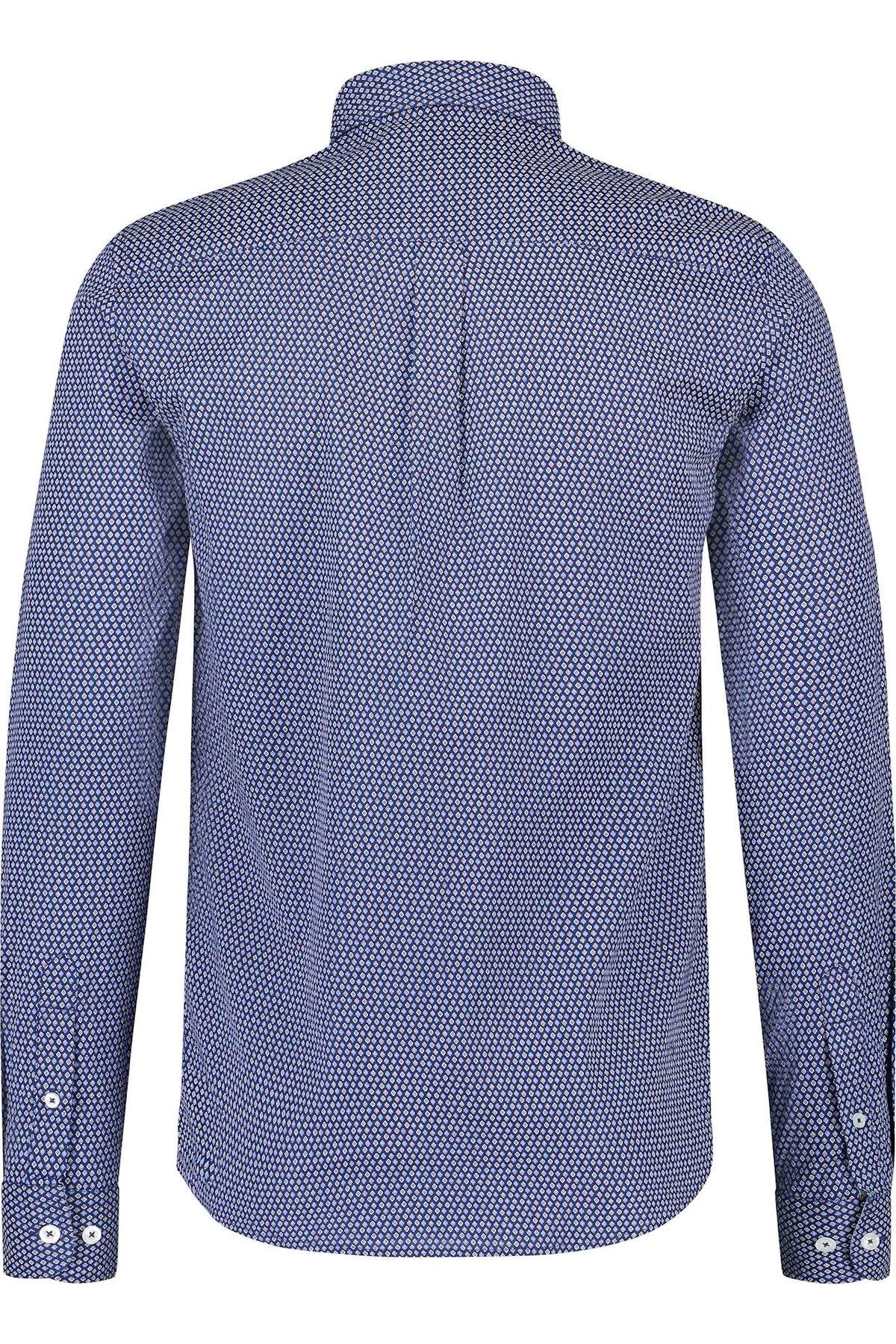 HAZE & FINN chemise extensible à carreaux français, coupe régulière-2