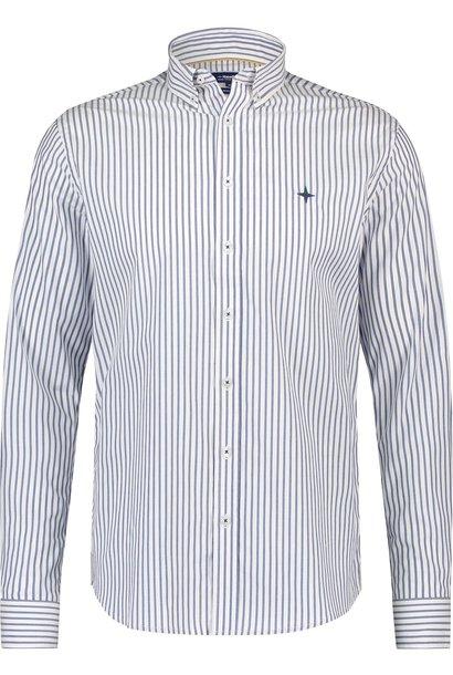 HAZE&FINN chemise stretch coupe classique à rayures classiques