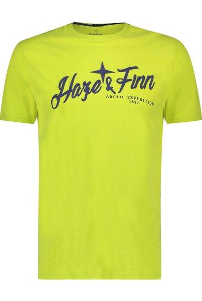 HAZE&FINN t-shirt à col rond et logo haze&finn puff