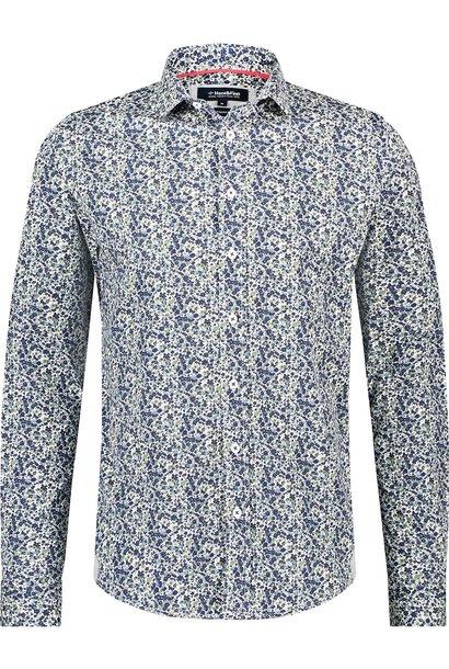 HAZE & FINN chemise extensible à imprimé italien