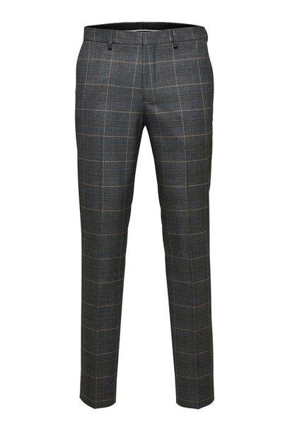 SELECTED pantalon de costume slim à carreaux