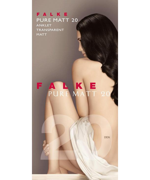 FALKE socquettes femmes pure matt 20 den-1