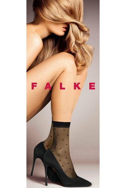 FALKE  socquettes femmes dot 15 den
