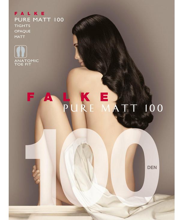 FALKE collant femmes pure matt 100 den-4