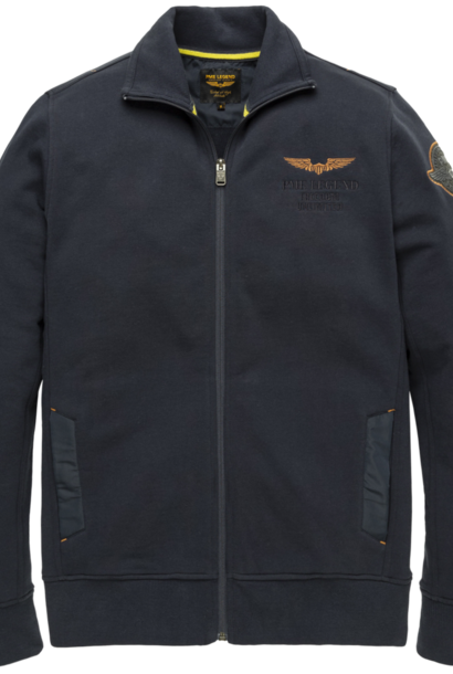 PME veste zippée diagonal terry