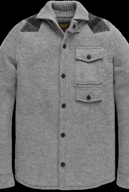 PME veste boutonnée en laine mixte
