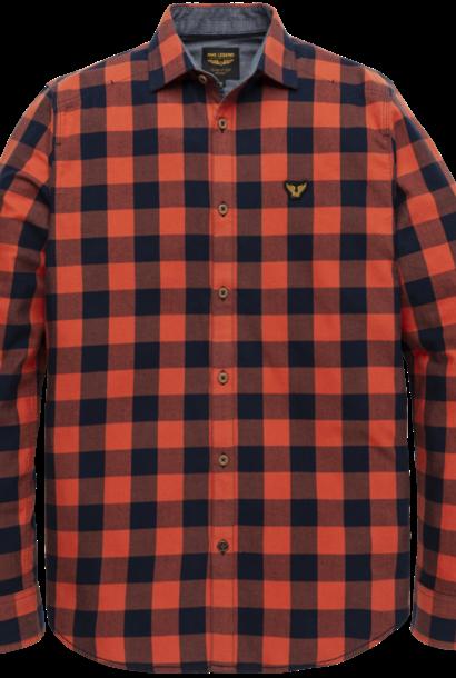 PME chemise en sergé à carreaux  à manches longues