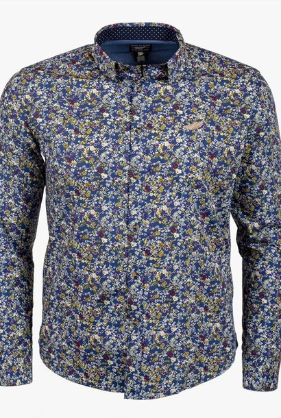 CLASSIC ALL BLACKS chemise à fleurs
