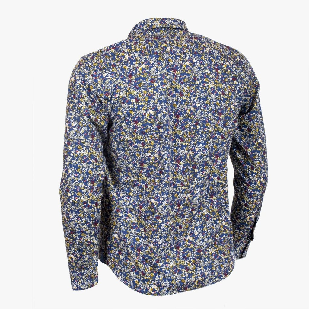 CLASSIC ALL BLACKS chemise à fleurs-2