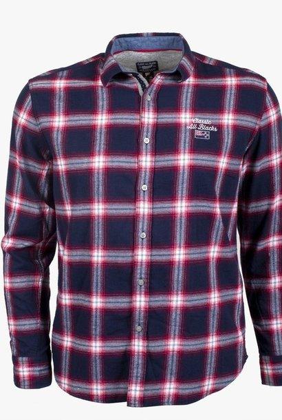 CLASSIC ALL BLACKS chemise à carreaux en flanelle