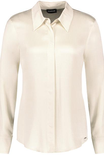 TAIFUN blouse fluide en satin