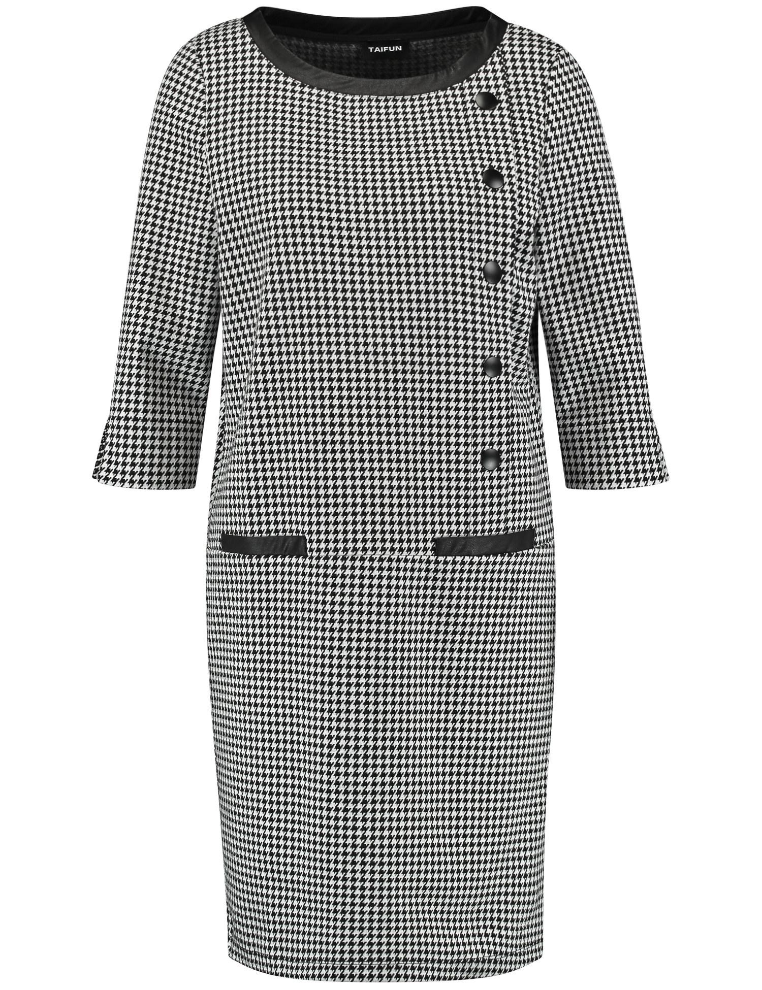 TAIFUN robe à carreaux-1