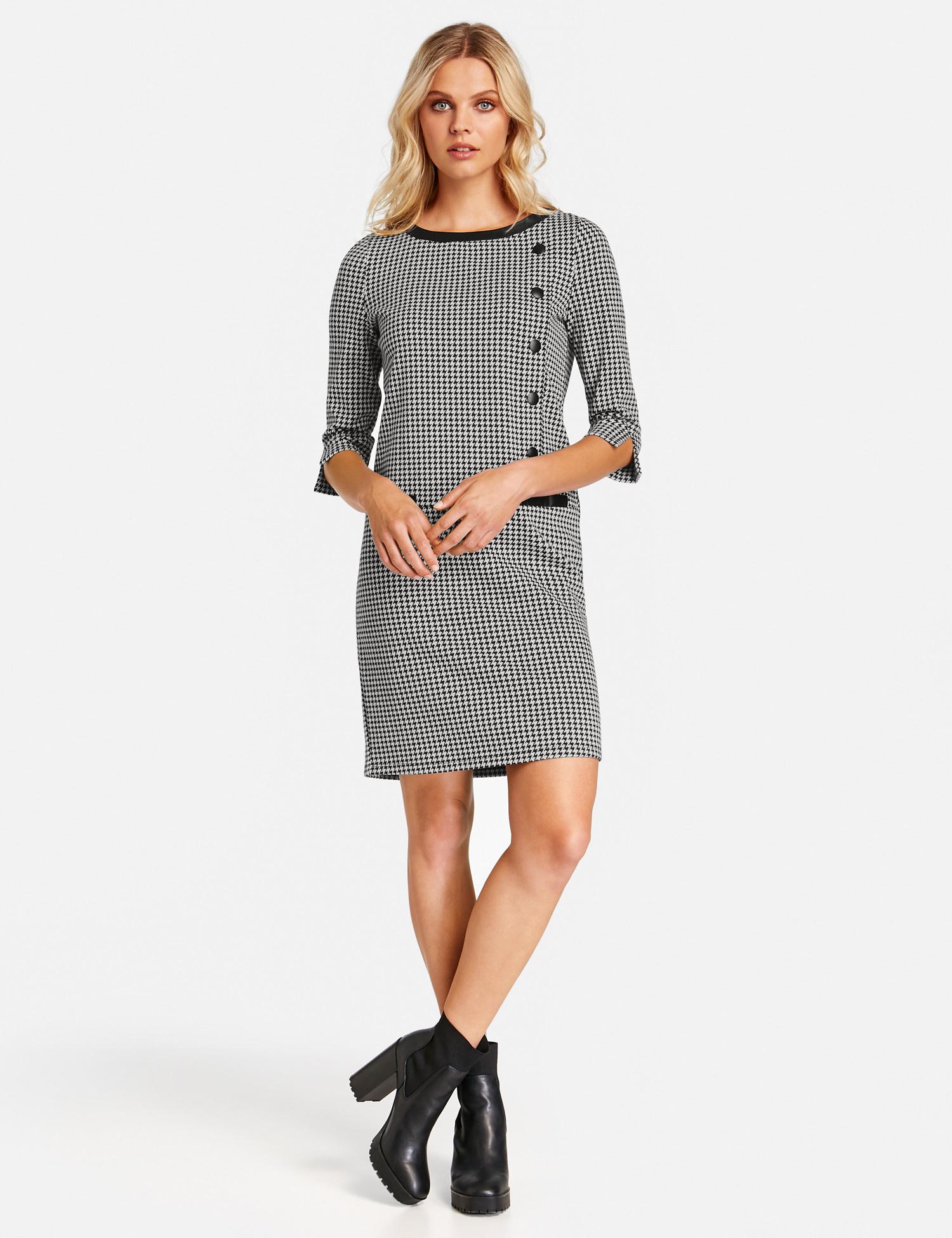 TAIFUN robe à carreaux-2